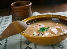 Sour rye soup  zur Royalty Free Stock Photos