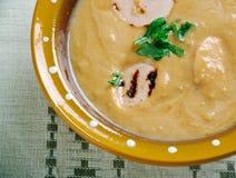 Sour rye soup  zur Stock Photo