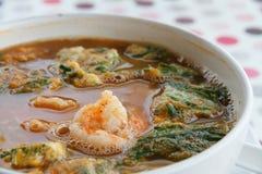 Sour shrimp spicy Royalty Free Stock Photos