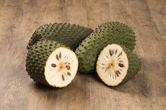 Sour sop, Prickly Custard Apple. (Annona muricata L.) Treatment of cancer. Sour sop, Prickly Custard Apple Royalty Free Stock Photos