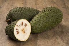 Sour sop, Prickly Custard Apple. Royalty Free Stock Images