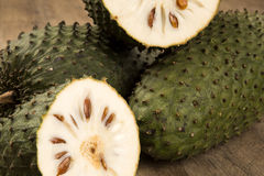 Sour sop, Prickly Custard Apple. Stock Photography
