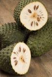 Sour sop, Prickly Custard Apple. Stock Photos