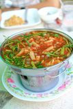 Sour soup made of Tamarind Paste Stock Images