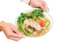 THE SOUR SOUP MEAL Stock Image