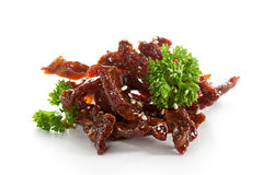 Sour Sweet Beef Royalty Free Stock Images
