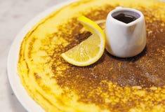 Sour and sweet pancake Royalty Free Stock Image