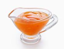 Sour-sweet sauce Stock Photos
