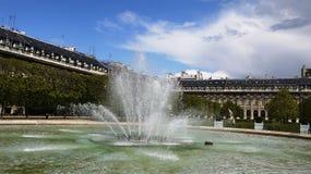Source à Paris Photo stock
