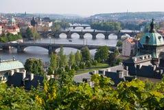 Source à Prague Photos stock