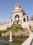 Source of Ciutadella Park. In Barcelona, Catalonia Spain Royalty Free Stock Image