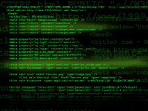 Source code. Technology concept in green Stock Images