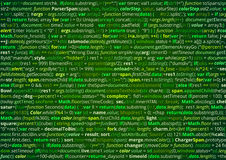 Source code screen Royalty Free Stock Photos