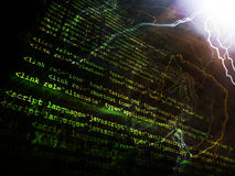 Source code Stock Photo