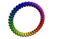 Source colorée de Roundsih Image libre de droits