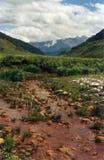 Source d'eau minérale dans Caucase Photographie stock