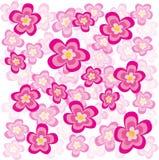source de fleurs illustration de vecteur