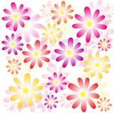 source de fleurs illustration libre de droits