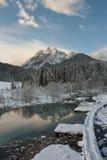 Source de fleuve Sava Dolinka Photographie stock libre de droits