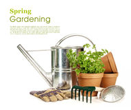 source de jardinage Photos libres de droits