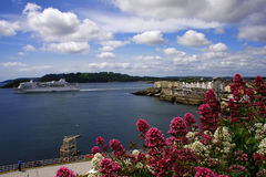 source de l'Angleterre Plymouth Photos stock