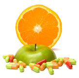 Source de vitamines Photo libre de droits
