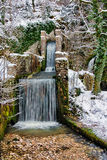 Source du Lison in winter Stock Photography