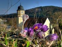 Source en Bavière Image libre de droits