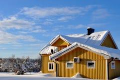 Source en Scandinavie Images libres de droits