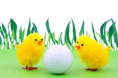 Source et golf Image stock