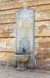 The source of holy water, Istanbul. Turkey stock photo