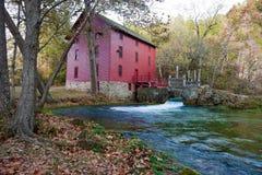 Source Missouri de ruelle dans l'automne Photos libres de droits