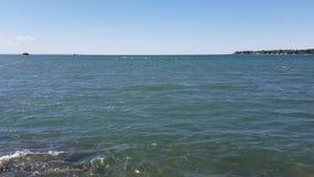 Source of Niagara River stock video footage