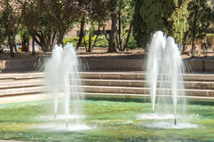 Source of a park Royalty Free Stock Images
