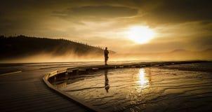 Source prismatique grande, Yellowstone Photos libres de droits