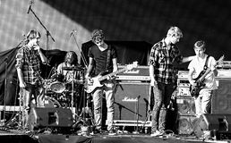 Source Romanian rock band at October fest Stock Photography