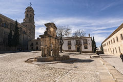 Source of Santa Maria, World Heritage site, Baeza Stock Photos