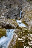 Source of Socha river. In Slovenia Stock Photo