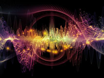 Source of Sound Wave Royalty Free Stock Photography