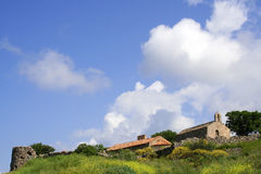 Source sur une île grecque Photographie stock libre de droits