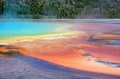 Source thermale Images libres de droits