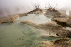 Source thermale dans Rupite, la Bulgarie Image libre de droits
