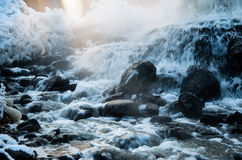 Source thermale de geyser Image libre de droits