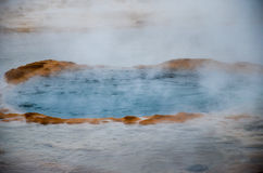 Source thermale, Islande Photos stock