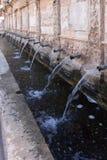 Source of the twenty sources, Daroca. Zaragoza province, Aragon, Stock Photo