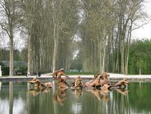 source Versailles photos libres de droits