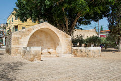 Source of the Virgin Mary. Nazareth Stock Photos