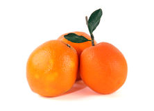 Source of Vitamin C: Fresh oranges Stock Photos