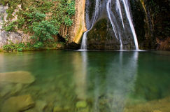 Source of water. Source of mundo river, in albacete province (spain Stock Photos