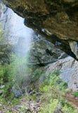 Source of Wuchang-Su waterfall (Ukraine) Stock Image